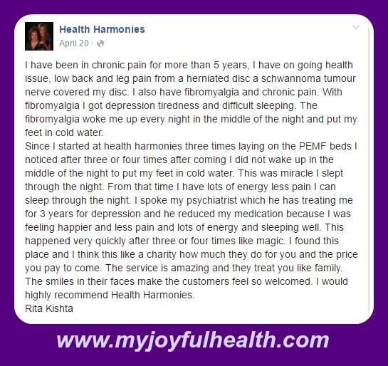 PEMF Depression and Pain, Fibromyalgia, Tiredness, Sleep