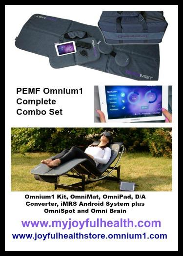 PEMF Salmon Arm BC Canada Omnium1 Complete Combo Set Omnium1 PEMF Mat