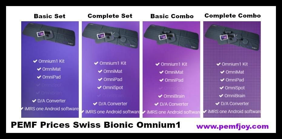 PEMF Omnium1 Prices
