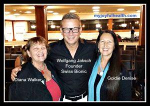 Wolfgang Jaksch Swiss Bionic Diana Walker Goldie Denise Nov 7 2016 2