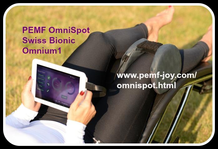 PEMF OmniSpot Omnium1 Swiss Bionic Knee Pain