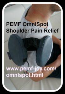 PEMF OmniSpot Omnium1 Swiss Bionic Shoulder Pain