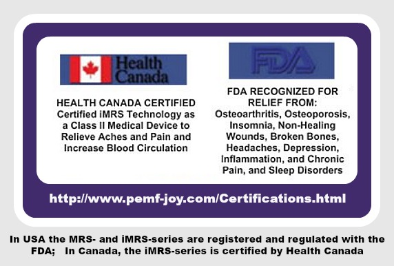 PEMF Omnium1 Mat Health_Canada_FDA_2018