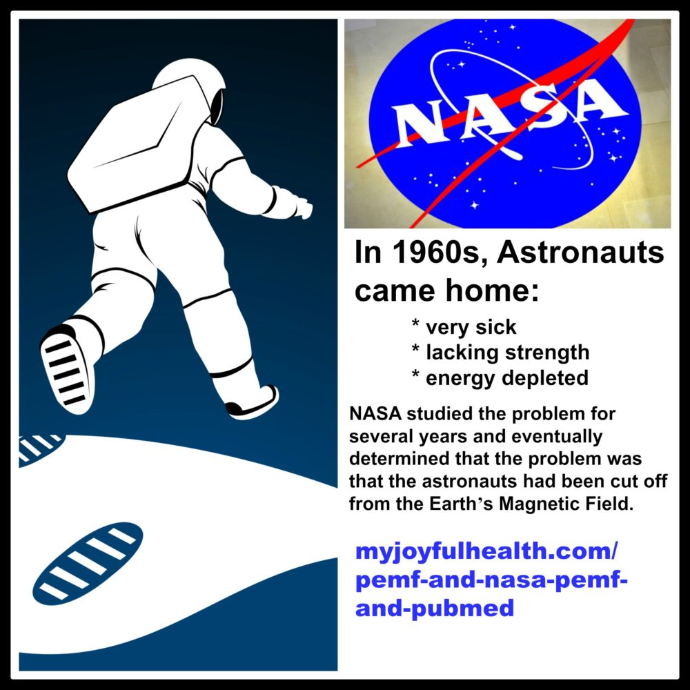 PEMF and NASA PEMF and PubMed