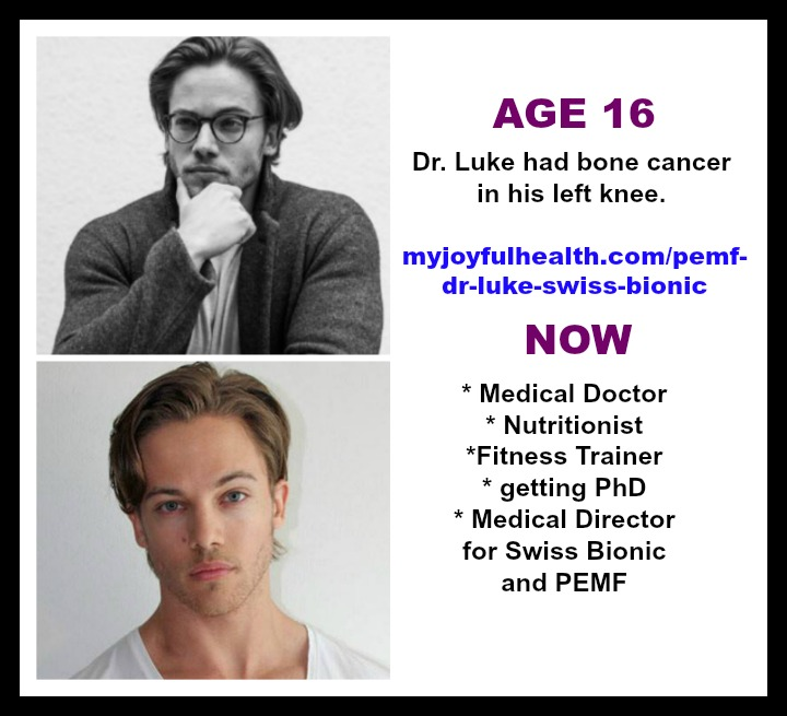 PEMF Dr Luke Swiss Bionic Cancer Free